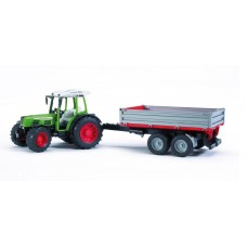 Bruder Fendt With Tipping Trailer (02104)